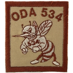 Patch, Operational Detachment Alpha (ODA) 534, Desert - Spice Brown