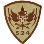 Patch, Operational Detachment Alpha (ODA) 524, Desert - Spice Brown