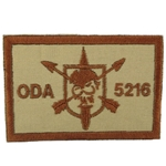 Patch, Operational Detachment Alpha (ODA) 5216, Desert - Spice Brown
