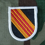 Beret Flash, 5th Special Forces Group (Airborne) Vietnam