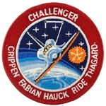 Patch, STS-7 Space Shuttle Challenger