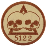 Patch, Operational Detachment Alpha (ODA) 5122, Desert - Spice Brown