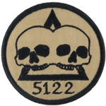 Patch, Operational Detachment Alpha (ODA) 5122, Desert - Black