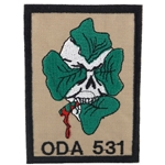 Patch, Operational Detachment Alpha (ODA) 531, Type 2, Desert - Green