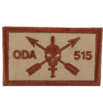 Patch, Operational Detachment Alpha (ODA) 515, Desert - Spice Brown