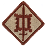 Patch, 18th Engineer Brigade, Color