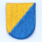 Beret Flash, 8th Special Forces Group (Airborne) Cut Edge