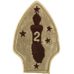 Patch, 2nd Marine Division, Color