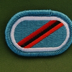 Oval, 28th Airborne Pathfinder Infantry Detachment