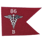 Patch, B, Company, 86th Combat Support Hospital