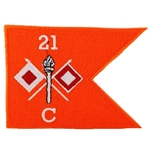 Patch, Signal Company (C Company), 21st Engineer Battalion (Formally 3rd STB)