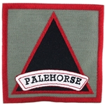 "Patch, 7th Squadron, 17th Cavalry Regiment ""Palehorse"", Foliage Green"