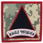 "Patch, 159th Combat Aviation Brigade ""Eagle Thunder"", ACU"