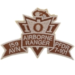 Patch, 159th Aviation Brigade, PFDR, 7th Battalion, 101st Aviation Regiment, Desert, Small New Type