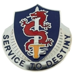 DUI, 101 Personnel Services Battalion, Motto, SERVICE TO DESTINY