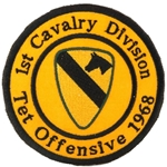 Patch, 1st Cavalry Division, Tet Offensive 1968