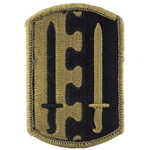 Patch, 2nd Infantry Brigade, Color