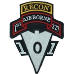 Patch, 101st Airborne Recondo, Subdued