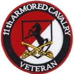 Patch, 11th Armored Cavalry Regiment, Veteran