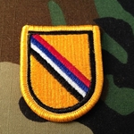 Beret Flash, Special Forces Detachment, Korea
