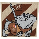 Patch, 3rd Infantry Division, Rocky the Bulldog, Desert