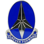DUI, 197th Infantry Brigade, Motto, FOREVER FORWARD