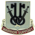 DUI, 225th Brigade Support Battalion, Motto, WARRIOR SUPPORT