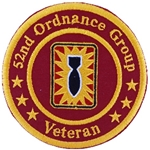 Patch, 52nd Ordnance Group (EOD), Veteran