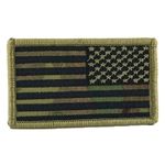 Patch, Reversed American Flag w/o Velcro®, MultiCam® T6