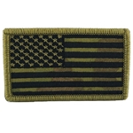 Patch, American Flag without Velcro®, MultiCam® Type 8