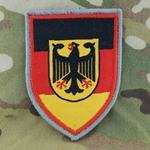 Patch, Bundeswehr, Central Military Service (ZMilDBw), Only 1 In Stock