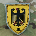 Patch, Bundeswehr, III.  Corps, Only 1 In Stock