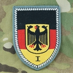 Patch, Bundeswehr, Military Area Command I, Only 1 In Stock