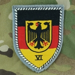 Patch, Bundeswehr, Military Area Command VI, Only 1 In Stock