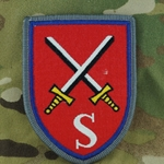 Patch, Bundeswehr, Officer School of the Army Supply School of the Army, Only 1 In Stock
