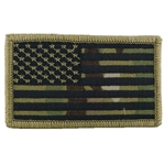 Patch, American Flag with Velcro®, MultiCam® Type 7