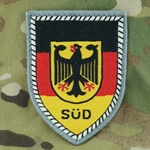 Patch, Bundeswehr, Territorial Command South, Only 1 In Stock