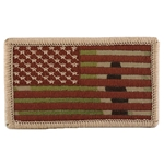 Patch, American Flag with Velcro®, MultiCam® Type 3