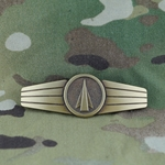 Badge, Bundeswehr, Anti Aircraft, Bronze, Only 1 In Stock