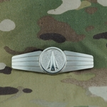 Badge, Bundeswehr, Anti Aircraft, Silver, Only 1 In Stock