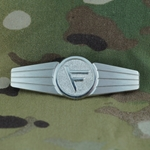Badge, Bundeswehr, Liaison Officer, Silver, Only 1 In Stock