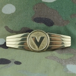 Badge, Bundeswehr, Supply & Transportation, Gold, Only 1 In Stock