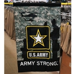 "Banners 28"" X 40"" Double Sided, U.S. Army"