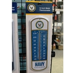 Military Metal Thermometers, Uniformed Services, Navy