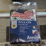 U.S. Flag, Nylon, 3 Feet X 5 Feet, With Gromments, Annin®