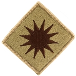 Patch, 40th Infantry Division, Color