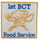 Patch, 94 Bravo, Food Service, 1st BCT