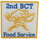 Patch, 94 Bravo, Food Service, 2nd BCT