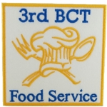 Patch, 94 Bravo, Food Service, 3rd BCT