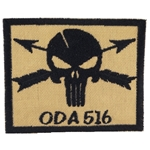 Patch, Operational Detachment Alpha (ODA) 516, Desert - Black
